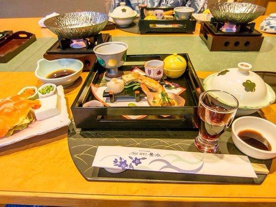 Hotel Keisui: Yummy meal