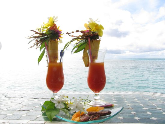 Fenua Mata'i'oa: Coctails on the sea