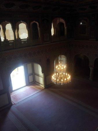 Samode Palace: Salão de audiências.