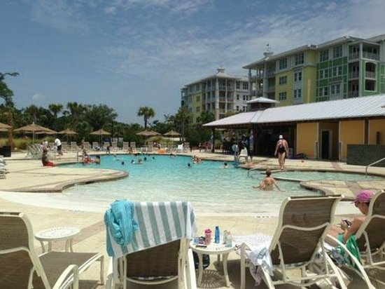Wild Dunes Resort: Nice, Large Pool Area at Wild Dunes
