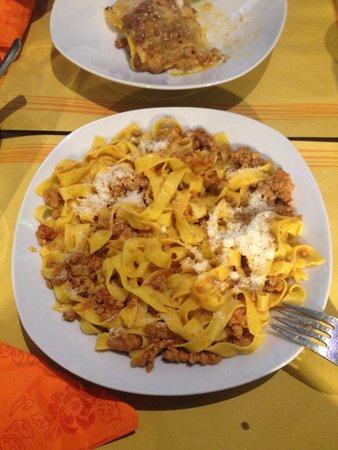 Cinque 50: La verdadera pasta boloñesa!!!!