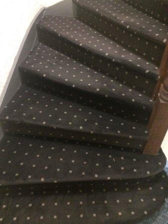 Le Voltaire : Les nouveaux et beaux escaliers . Faut pas exagérer avec vos commentaires ...