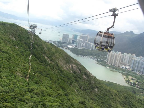 Eaton, Hong Kong: Lantau Island Cable Car