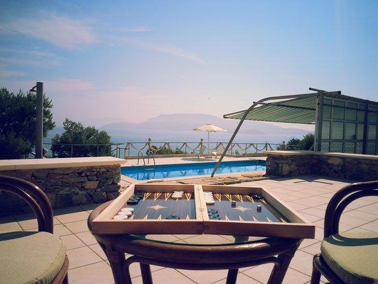 Archipelagos Boutique Hotel: pool area