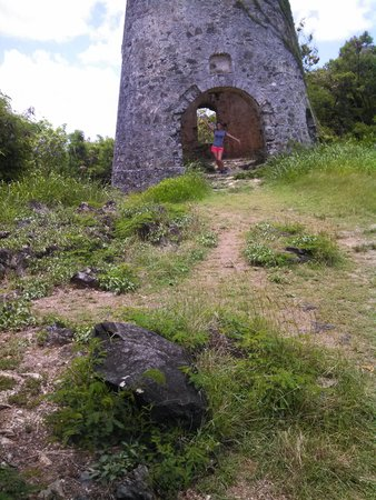 Peace Hill Windmill : Me hiking at the Windmill!