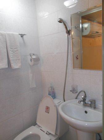 E Residence トイレと洗面台とシャワー