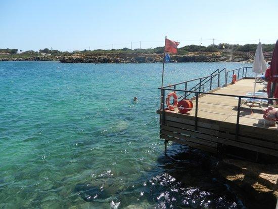 VOI Arenella resort : piattaforme
