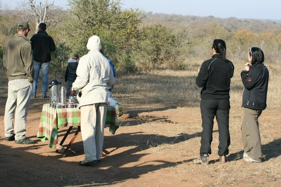 Serondella Game Lodge: Tea break