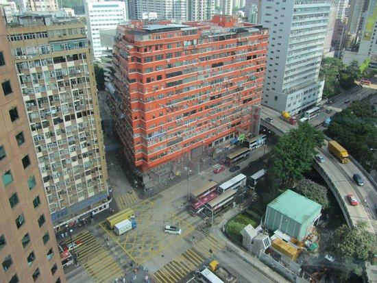 Eaton, Hong Kong: Street View from lift