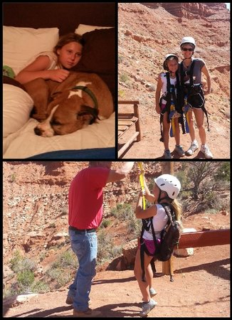 Canyons Lodge - A Canyons Collection Property : zip line nearby and sleepover pic