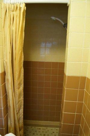 Mt. Rushmore's White House Resort: Very small shower