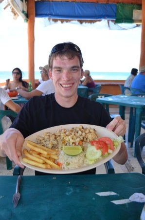 Senor Iguana: Conch grilled with butter and garlic