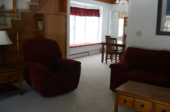 Ramada Keystone Near Mt Rushmore : Living room area