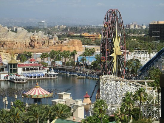 Disney's Paradise Pier Hotel: View from room