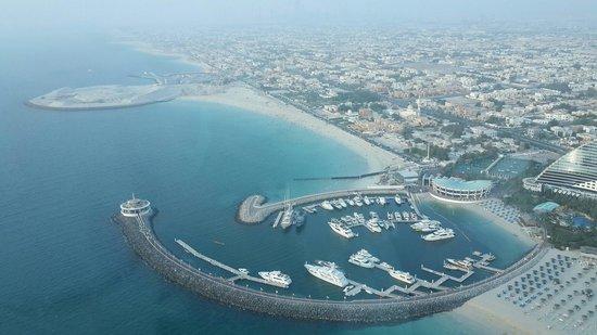 Burj Al Arab Jumeirah: View from our table