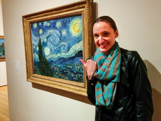 The Museum of Modern Art (MoMA) : Starry Night!