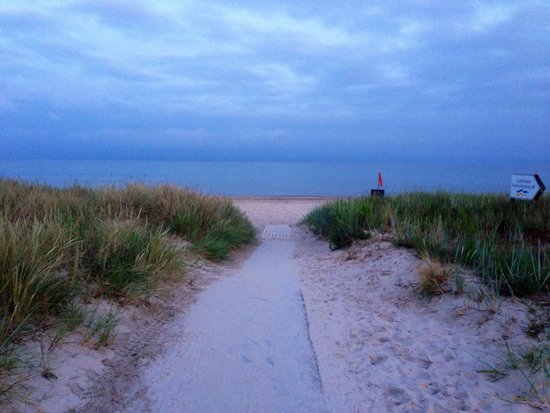 Sudersands Semesterby: Så vackert - himmel och hav i ett!