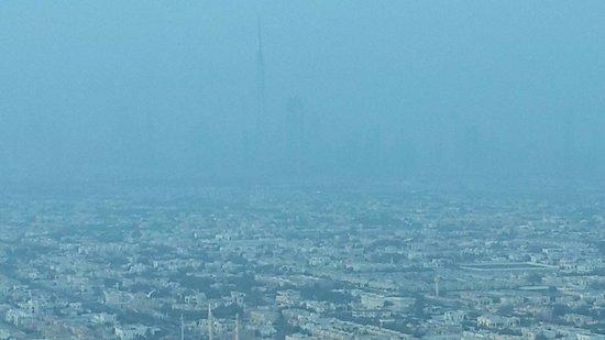 Burj Al Arab Jumeirah: View of burj kalifa from our table