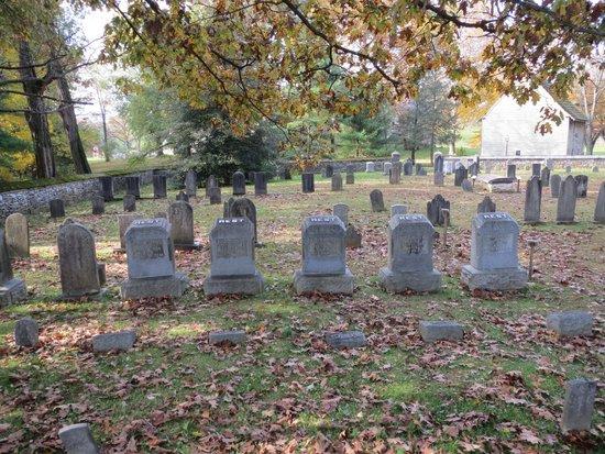 Cemetery at the Ephrata Cloister