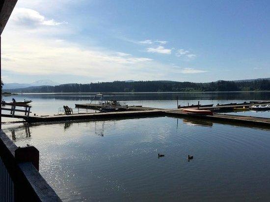 Silver Lake Resort: Property's boat docks
