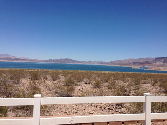 Lake Mead RV Village: View from campsite