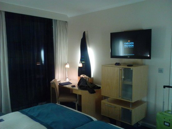 Radisson Blu Hotel London Stansted Airport: Habitacion