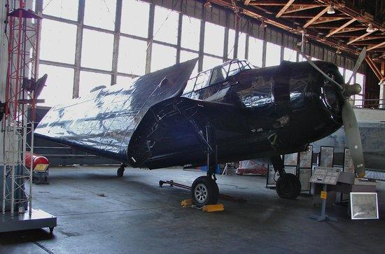 Naval Air Station Wildwood Aviation Museum : TBM Avenger - built in Trenton, NJ
