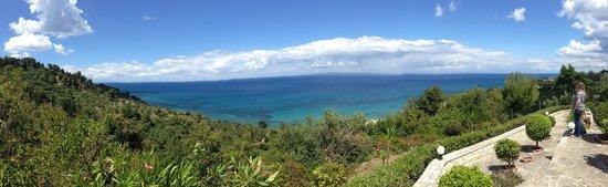 Villa Contessa: Blick auf das Meer