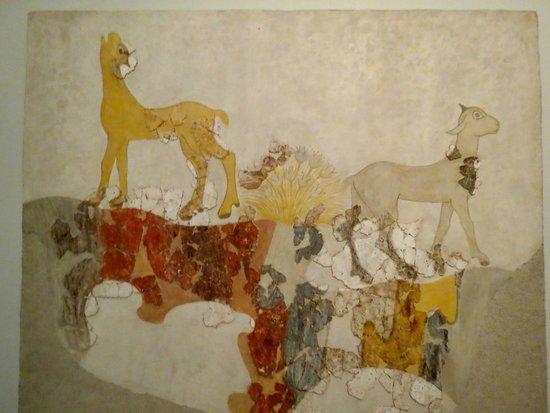 Museum of Prehistoric Thera : Animal frescoes