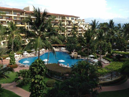 Velas Vallarta Suite Resort : Vista desde nuestra habitación