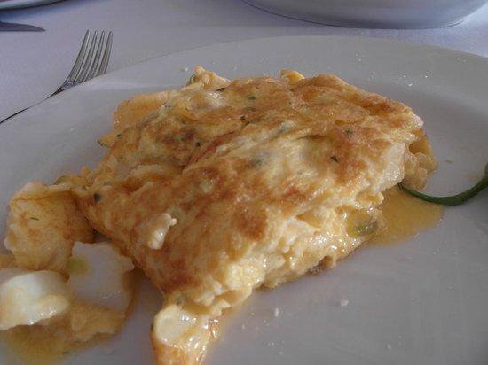 Arizia: Cod omlette