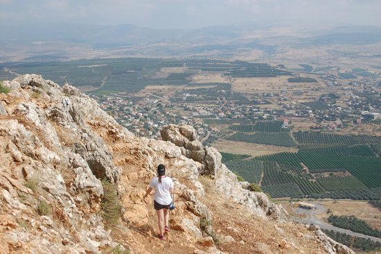 Arbel National Park : About halfway down