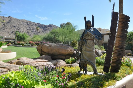 JW Marriott Scottsdale Camelback Inn Resort & Spa: Außenbereich