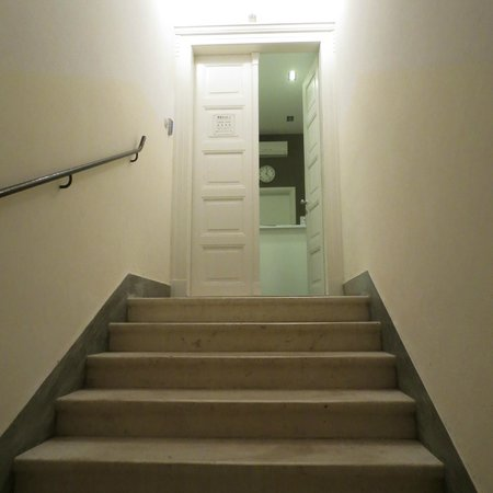 Priuli Luxury Rooms: Entrada.