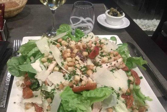 Relais D'alsace Taverne Karlsbrau : Salade César