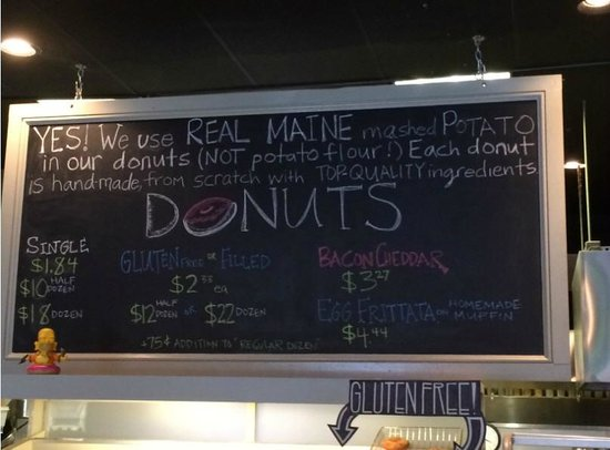 The Holy Donut : Yes - donuts made from mashed potatos are awesome