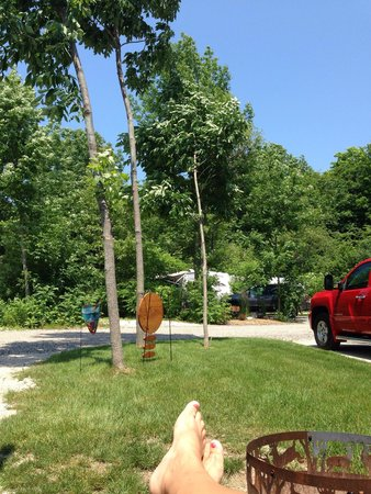 Egg Harbor Campground: Totally relaxing