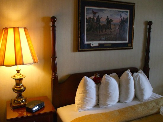Comfort Inn Red Horse  Frederick : Double room for my wife and I