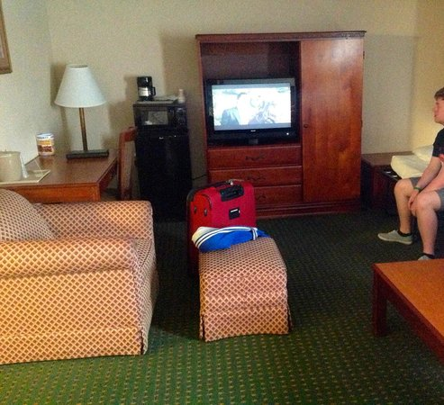 Comfort Inn Red Horse  Frederick : The sitting area