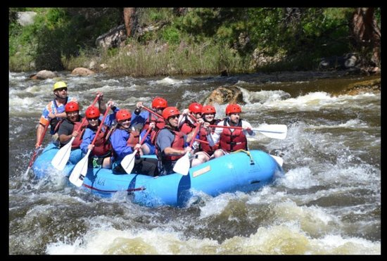 Rocky Mountain Adventures: New Start for Student Veterans Rafting Trip 2014