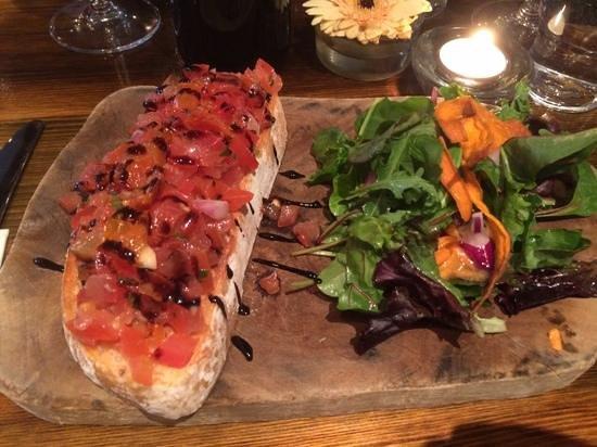 The Quay Street Kitchen: Bruschetta des Hauses