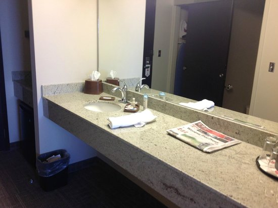 Bathroom, Canad Inns Destination Centre Health Sciences Centre  |  720 William Avenue, Winnipeg