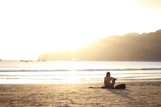 San Juan del Sur Beach : peaceful, relaxing, beautiful.
