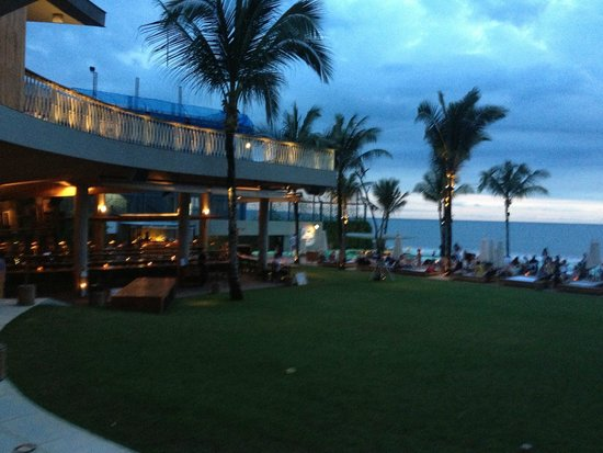 View of Ocean at Potato Head Beach Club