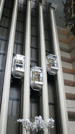 Crowne Plaza Moscow World Trade Centre: Elevators