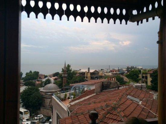 Hotel Valide Sultan Konagi: Terrace View