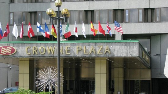 Crowne Plaza Moscow World Trade Centre: Hotel