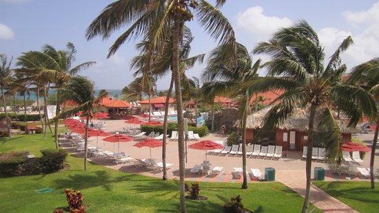 La Cabana Beach Resort & Casino: View from our room overlooking the pool
