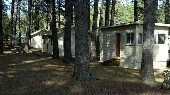 Pine Springs Resort: Outside cabins