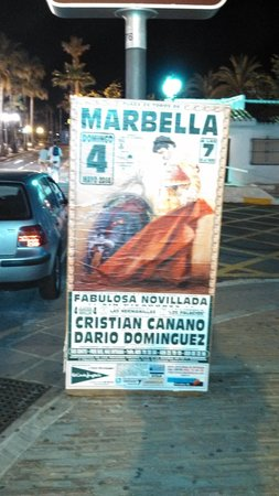 Puerto Banús Marina: poster in PB
